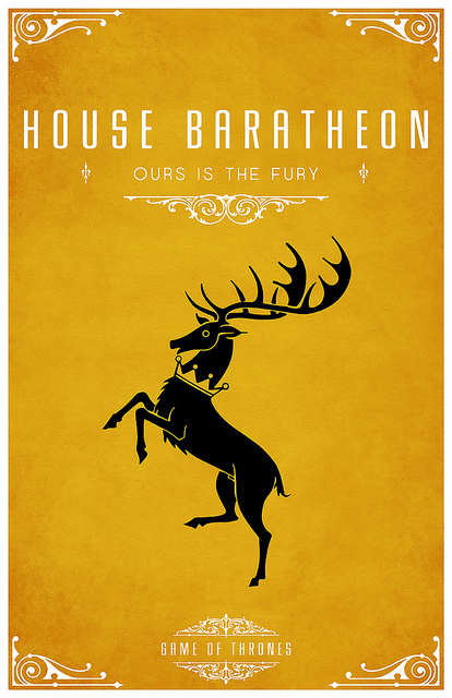 Game of Thrones - House Baratheon